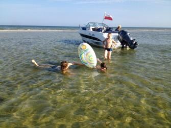 Dzieci - Mierzeja Rybitwa - Zatoka Pucka