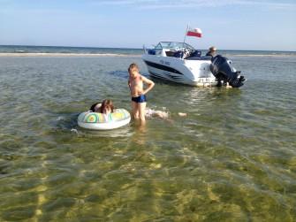 Kąpiel - Mierzeja Rybitwa - Zatoka Pucka