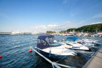 Łodzie Motorowe - Port Jachtowy - Puck