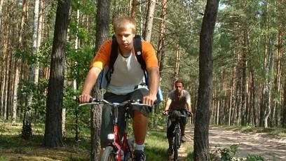 Wyprawa rowerowa - Las w Karwii