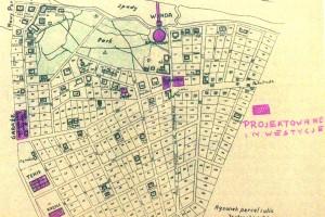 Mapa Jastrzębiej Góry, rok 1938