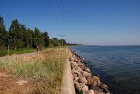 Willa Kaskada - trasa rowerowa Hel